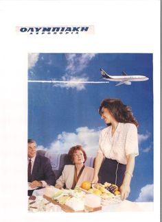 Olympic Airlines, Vintage Airline, Air Travel, Flight Attendant, Travel Posters, Airplanes, Olympics, Aviation, Nostalgia