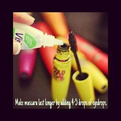 Makeup tips for mascara