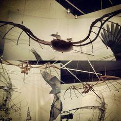 Raise flights! With Leonardo da Vinci #imaginingflight#leonardodavinci#anaturezadainvencao#centroculturalfiesp#sesi#sp#brazil | Flickr - Photo Sharing!