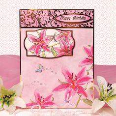 Floral Fantasia | Hunkydory Crafts