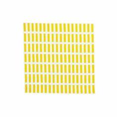 Artek Siena White/Yellow Cotton Napkin - Click to enlarge