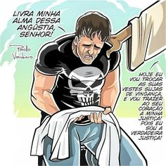 deliver my soul from this anguish sir! today I am going to change your garments dirty with vengeance, and I will bring my justice to your heart! for I am the true justice! Christian Humor, Christian Life, Jesus Cartoon, Jesus Wallpaper, Cartoon Quotes, Motivational Phrases, Catechism, Jesus Freak, Humor Grafico