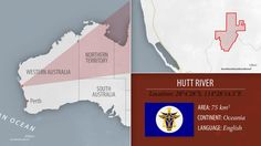 """Hutt River, in Australia, a small """"principality"""" set up by a family of farmers hoping to escape the government's strict grain quotas; they soon developed their own royal titles, currency and postal service."""