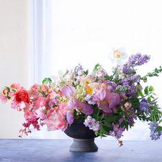 New Flowers Bouquet Vase Diy 18 Ideas Beautiful Flower Arrangements, Wedding Arrangements, Floral Arrangements, Amazing Flowers, Beautiful Flowers, Wedding Flowers, Floral Wedding, Diy Flowers, Rainbow Flowers