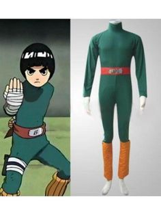 Naruto Rock Lee Halloween Costumes Cosplay