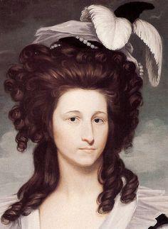 18th century hats america | 18th-century American Women: Hats, Hats, Hats - Headwear in the Early ...