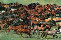 """""""When the powerful horses went out, they were straining to go throughout the earth. And he said, """"Go throughout the earth!"""" So they went throughout the earth."""" Zechariah 6:7."""