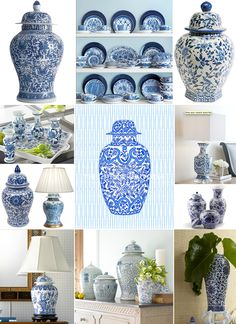 If you're looking for classic home décor, you can't go wrong with beautiful blue and white pottery. Perfect for grouping and creating vignettes, this pottery will never go out of style or overwhelm your other décor.