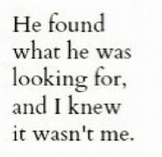 He found it
