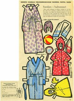 Danish Mama, Papa and Kids paper dolls pg 5 * 1500 paper dolls at International Paper Doll Society by artist Arielle Gabriel ArtrA QuanYin5 Linked In QuanYin5 Twitter *