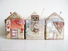 House Number Three by Phizzychick on Etsy