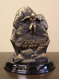 NFL New York Jets Tim Wolfe Sculpture NFL Jets