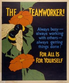 Mather Work Incentive Poster 1929 (via wolfsonian)