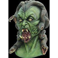 Extreme Creepy Medusa Snake Woman God Creature Serpent Halloween Costume Mask