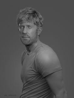 ArtStation - Self-Portrait, Ian Spriggs