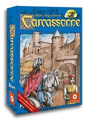 Carcassonne. de Klaus-Jürgen Wrede. http://www.trictrac.net/jeu-de-societe/carcassonne-0/infos