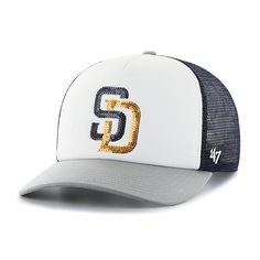 36220489e5cac San Diego Padres Glimmer Captain Cf Navy 47 Brand Womens Hat