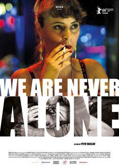 Nikdy nejsme sami (We Are Never Alone) by Petr Václav. #Berlinale Forum.  Poster.