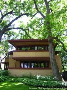 The #Roby House, by Frank Lloyd Wright in Chicago
