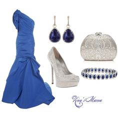 Blue Goddess, created by zionsmama on Polyvore