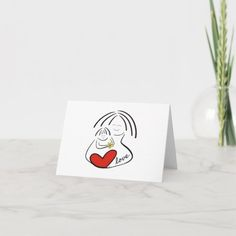 Birthday Pregnant Mom Card   Zazzle.com Mom Cards, Baby Cards, Kids Cards, Easter Images Free, Mother's Day Card Messages, Baby Birthday Card, Mothering Sunday, Mother And Child