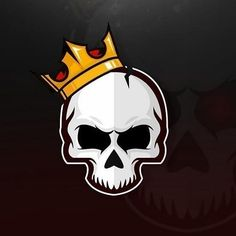 Need a custom logo design service from expert logo makers? Logo Dezine is a graphic design company that offers affordable and cheap logo design services. Game Logo Design, Graphic Design Company, Custom Logo Design, Logo Esport, Art Logo, Skull Logo, Skull Art, Arte Black, Image Nature