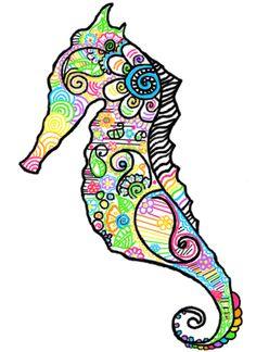 t—r-o-p-i-c-a-l:  Sea horse