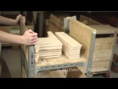 Peters Chair and Table by Hans J. Wegner - YouTube