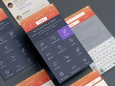 ui categories app mobile - Buscar con Google