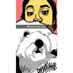 Gf & puppy #snapchat #beezyhater #diana #pancho
