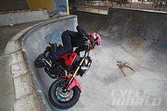 2014 Honda Grom hits the skate park with www.cycleworld.com