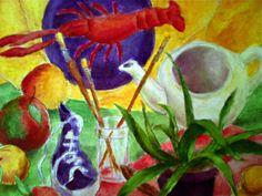 Stilleben Mandala, Graphics, Paintings, Sculpture, Drawings, Art, Craft Art, Graphic Design, Painting Art