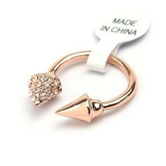 18k Gold Plated Ring Health Jewelry