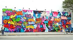 COPE2's Finished Bowery Wall - ANIMAL