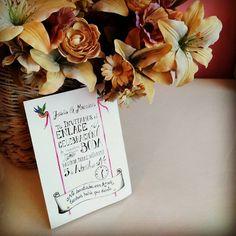 #weddinginvitation #lettering #watercolor