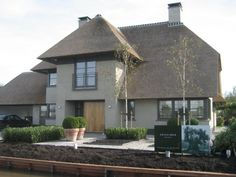 houses dream homes Garden Architecture, Residential Architecture, Architecture Details, Modern Architecture, Building Design, Building A House, Different House Styles, Holland House, Thatched House