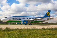 Airbus A320-214 UK32017 Uzbekistan Airways