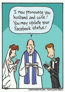 Gotta make it Facebook official, right? ;)