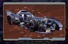 batmobile collection - Google Search
