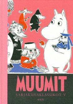 €21 Muumit - sarjakuvaklassikot 5 – Tove Jansson – kirjat – Rosebud.fi