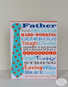 Father's Day Display {Plus Free Printable} - Just Us Four
