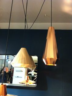 Copper lamps. Dutch design week. Want these!