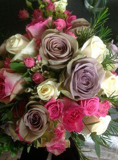 My beautiful wedding bouquet :)