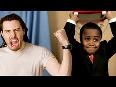 Kid President enlists the help of his friend Andrew WK to be a spokesperson for his #AWESOMEYEAR campaign. Andrew WK is a rock star, motivational speaker and known to KP by his part in the television show Destroy Build Destroy on Cartoon Network.