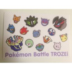 Pokemon Center 2014 Battle Trozei Xerneas Yveltal Mewtwo & Friends Authentic Postcard Lottery Prize NOT SOLD IN STORES
