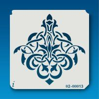 02-00010 French Tile stencil