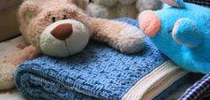 Crochet Basketweave Baby Blanket Afghan