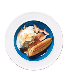 Brown Sugar Banana-Coconut Sundae: Caramelize the bananas in sugar and butter to add rich, deep flavor.
