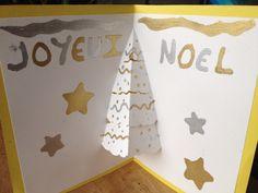 Carte Noël pop up maison !