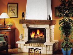 Fireplace Design, Mykonos, Interior Design, Halloween, House, Gardening, Italy, Home Decor, Fireplace Set